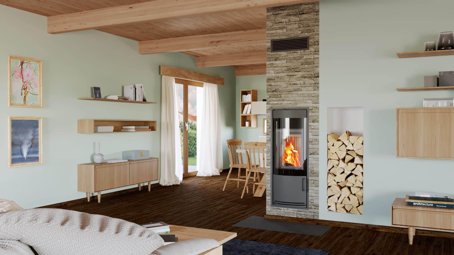 Překvapivá fakta o dřevě na nové stránce společnosti Schiedel!