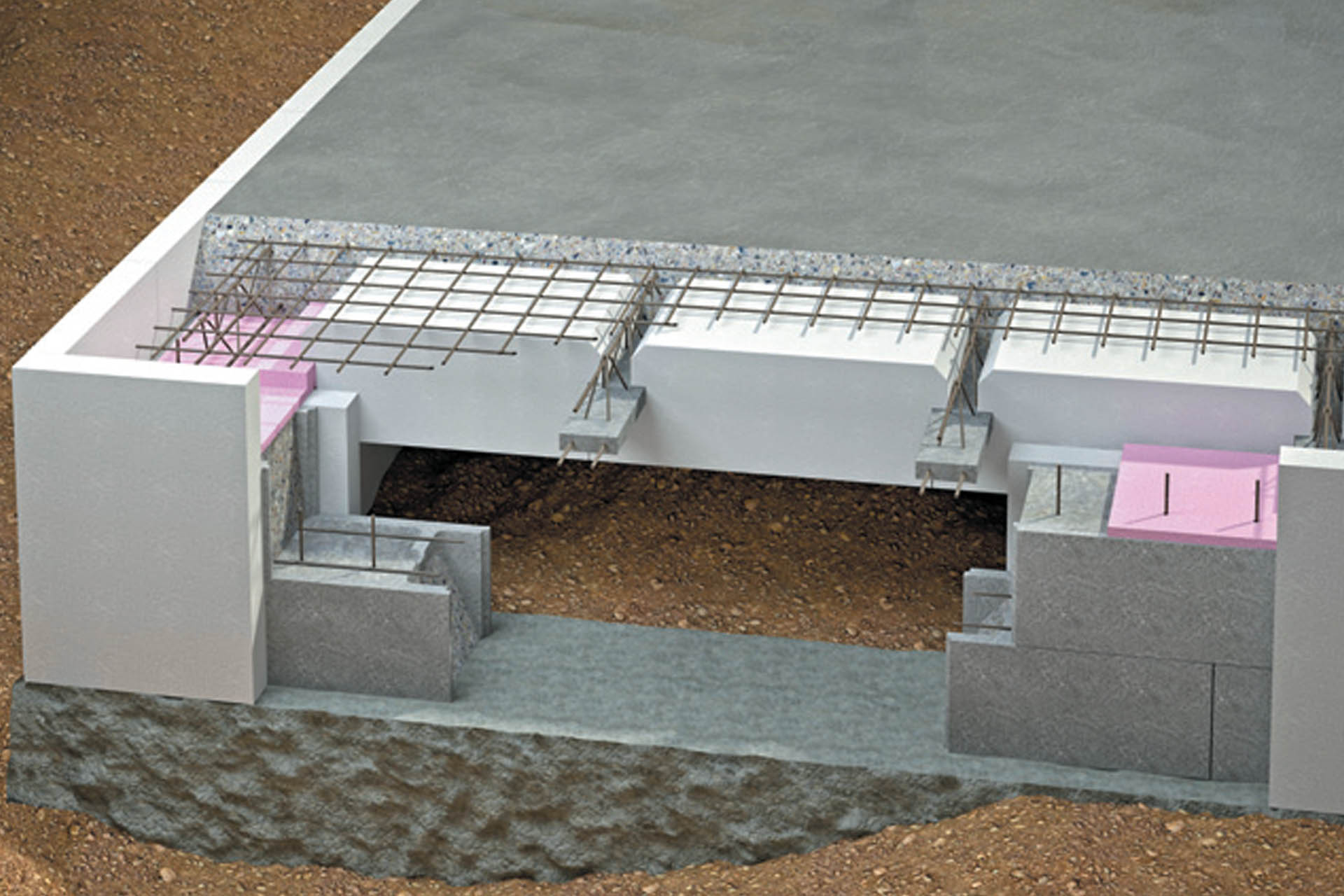 Stavba základových konstrukcí