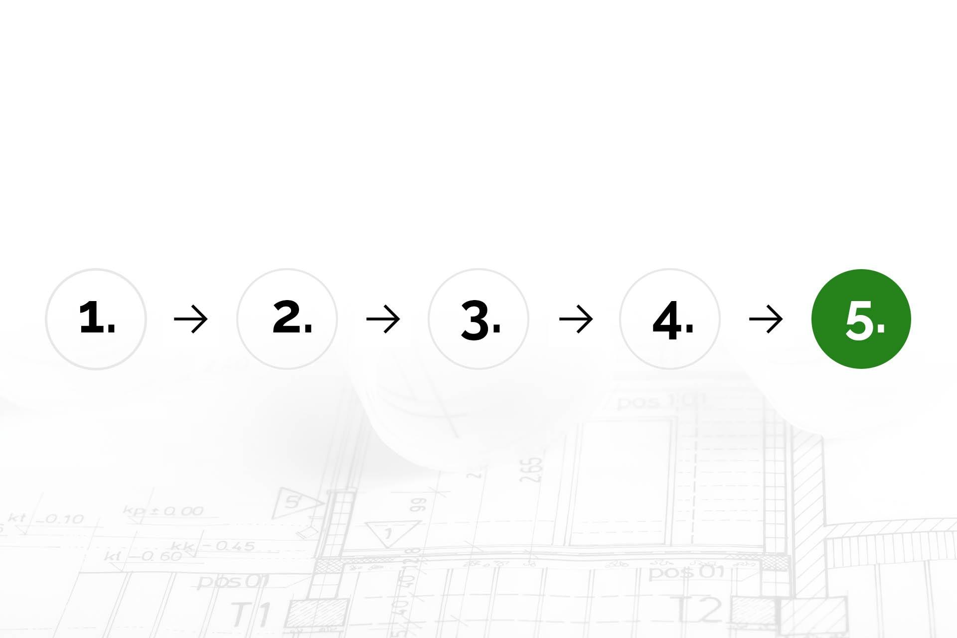 5. Vyřízení stavebního povolení